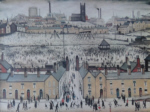 ls lowry britain at play print