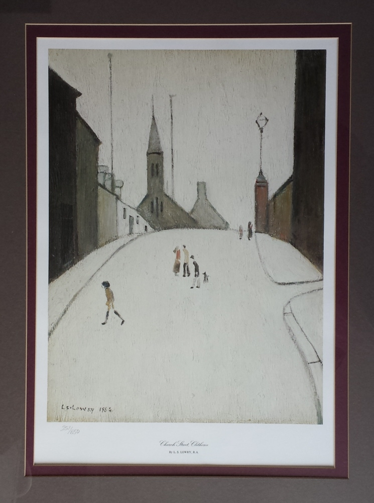 church streetclitheroe lslowry