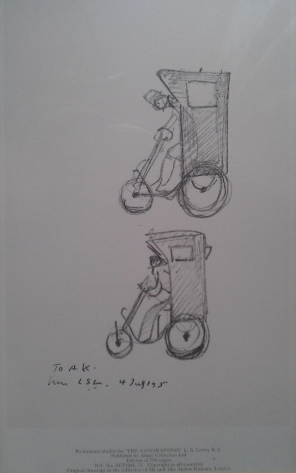 lowry contraption sketch print