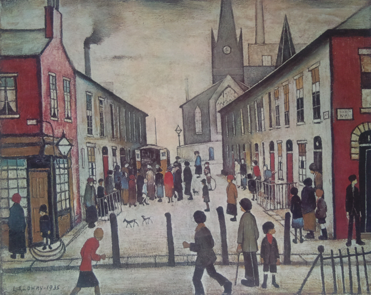 lowry fever van signed print