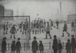 ls lowry football match print
