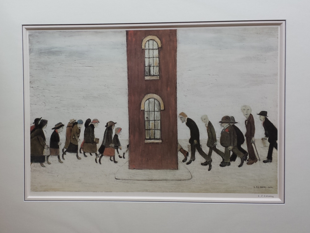 lowry meeting point signed print