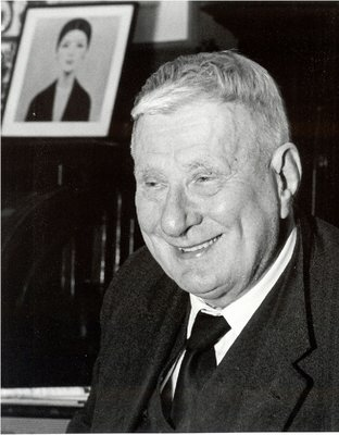 l.s. lowry smiling photo