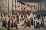 ls lowry punch and judy print