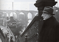 Lowry looking over Stockport