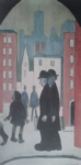 ls lowry two brothers print